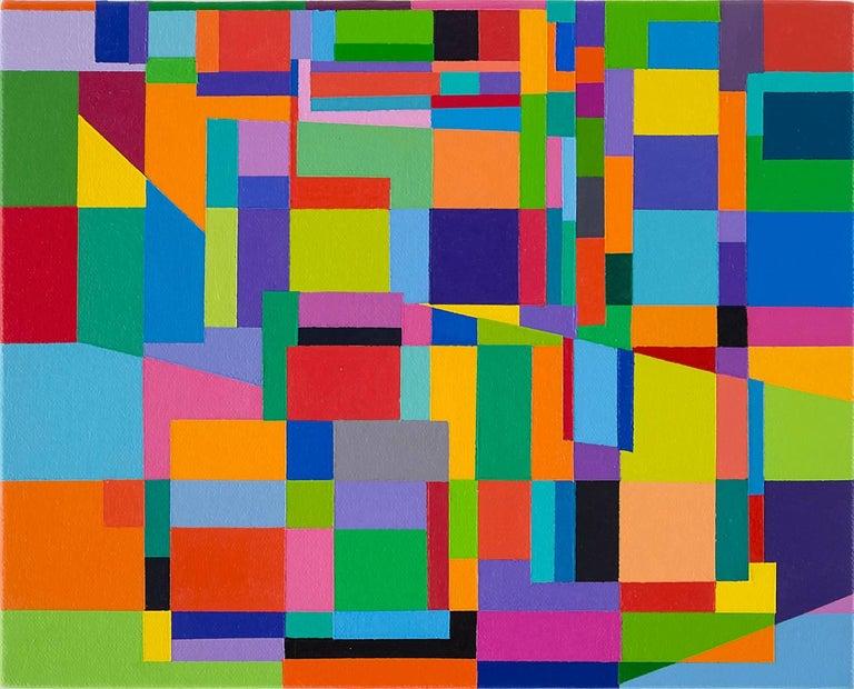 Tom Krumpak Abstract Painting - Japan/Modern #11