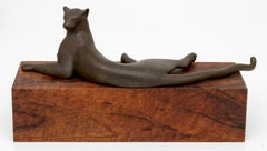 Reclining Panther Maquette POINCIANA