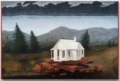 Dream House, oil painting