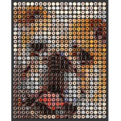 """""""Doggie Donuts"""" 34x27"""", one of a kind photographic arrangement"""