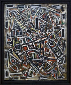 """""""Abstract Composition""""  35x27"""""""