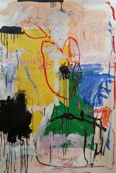 """""""Abstract with Yellow, Blue Green"""""""