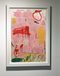 """""""Untitled Pink""""  53x37,"""