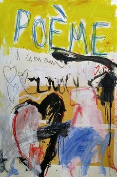 """Poeme Heart""  53x37"