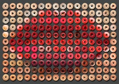 Donut Kiss, 41x55, Unique Photographic Arrangement,