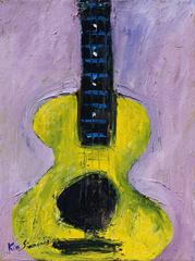 "Rock and Roll ""D Minor Overture"",  acrylic on canvas 24x18"