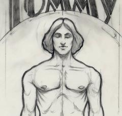 The Who's Tommy, original drawing,