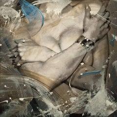 """Torso with Tiffany Cuff Bracelet""  18x18 on canvas"