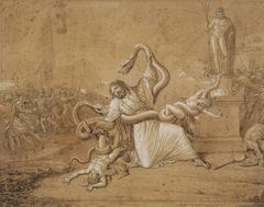 Laocoon and His Sons Attacked by Serpents