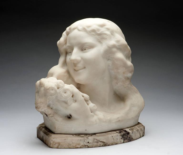 Bust of a Girl For Sale 1