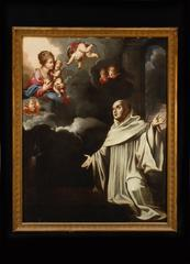 St. Bernard of Clairvaux receiving the Milk