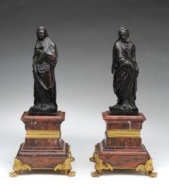 A vestal bearing a Vessal and a Prophet