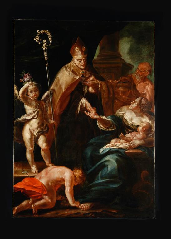 Bartolomeo Biscaino - St. John the Almoner 1