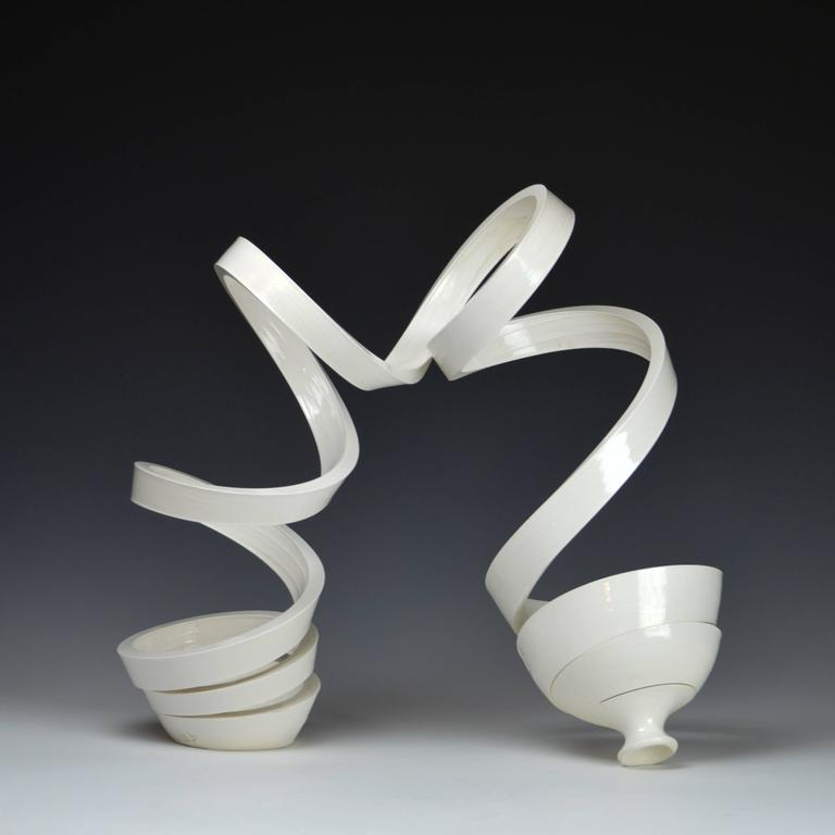Michael Boroniec - Ribbon White III  1