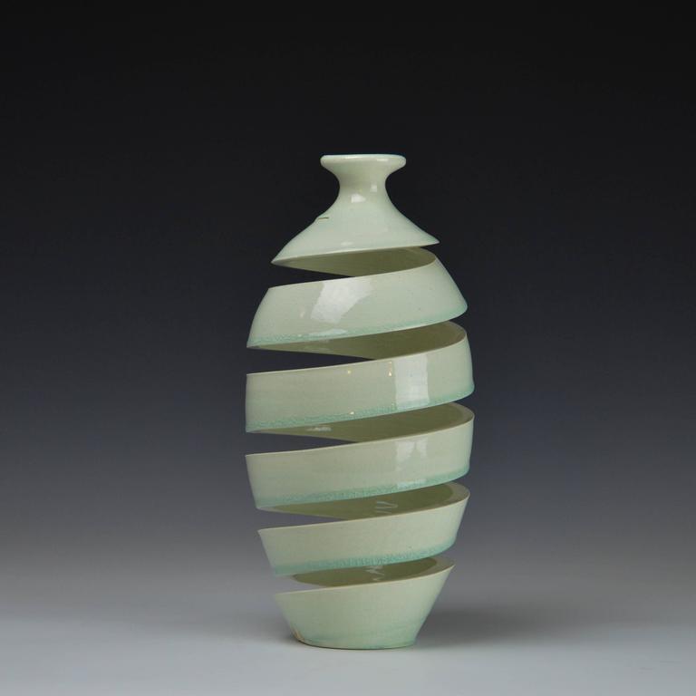 Michael Boroniec - Spatial Spiral Celadon II  1