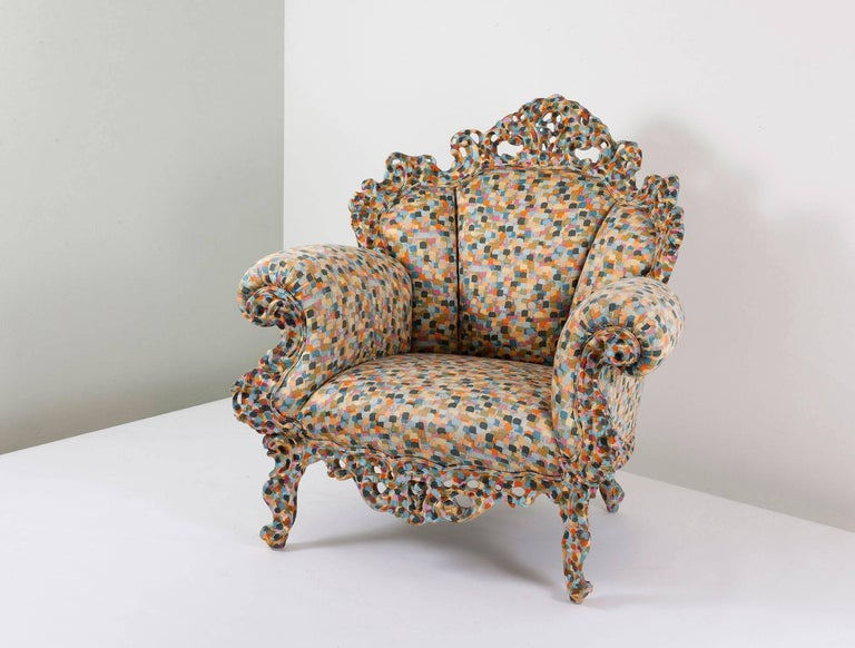 "Armchair ""Proust"" by Alessandro Mendini For Sale 1"