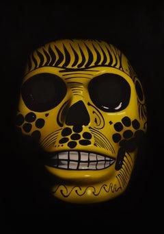 Yellow Sugar Skull