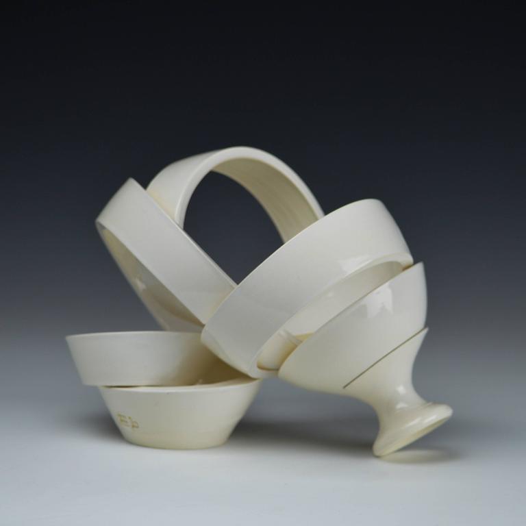 Ribbon White I  3