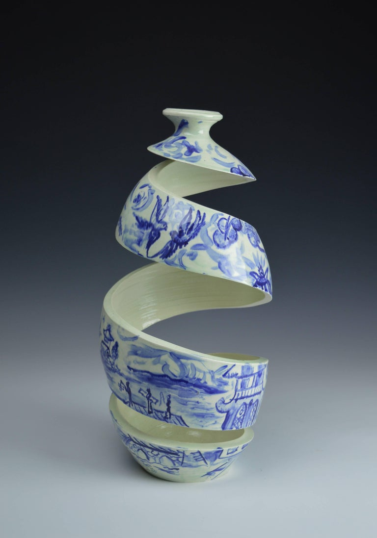 Spatial Spiral Willow Ware I 2