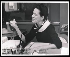 Diana Vreeland at Vogue. DIANA VREELAND PRIVATE COLLECTION.