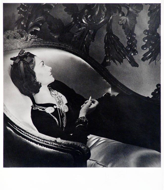 "Gabrielle ""Coco"" Chanel, Paris 1937"