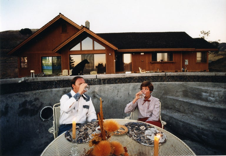 Bill Owens Color Photograph - Typical Californian, from Suburbia