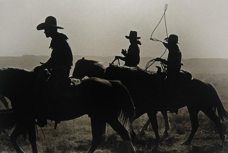 Untitled (Three Cowboys on Horseback)