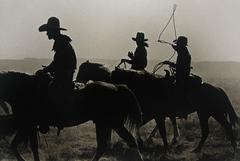 Untitled (Three Cowboys on Horseback)