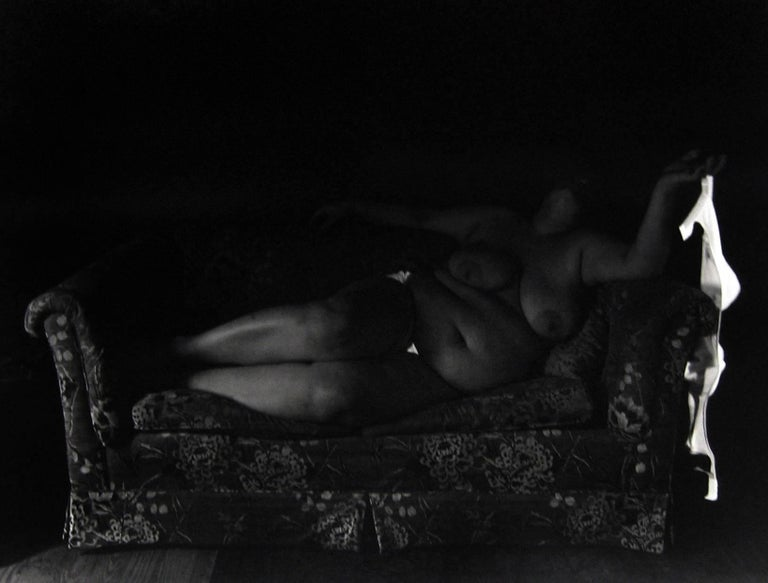 George Krause Nude Photograph - White Triangles, Houston