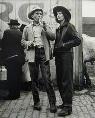 Horse Auction Couple - Brooklyn