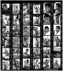 Al Satterwhite - Muhammad Ali Contact Sheet