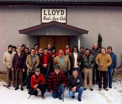 Group portrait Lloyd Rod & Gun Club