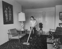 Untitled (Woman Vacuuming), from Suburbia
