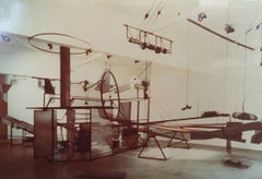 Dennis Oppenheim's sculpture: Final Stroke-Project for a Glass Factory