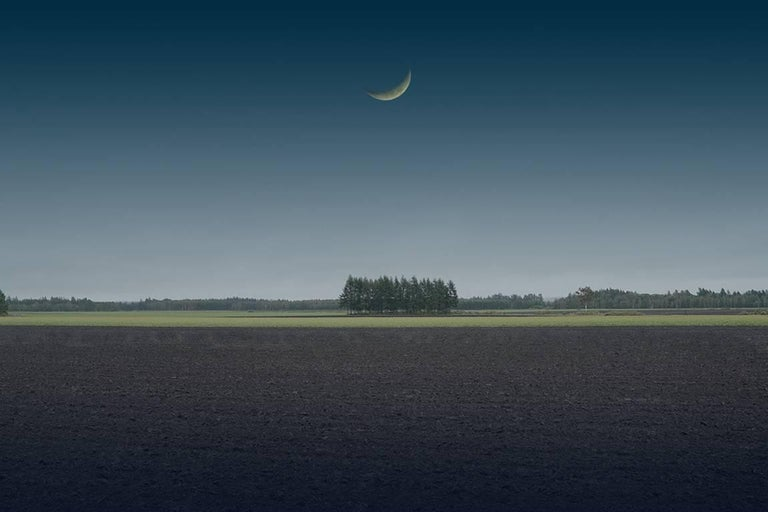 Kazz Morishita Landscape Photograph - Calm, from Moonlight Serenade