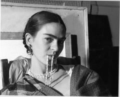 Frida Biting Her Necklace, New Yorkers School, NY