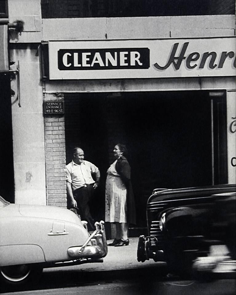 NYC Street Scene (Henry Cleaners)