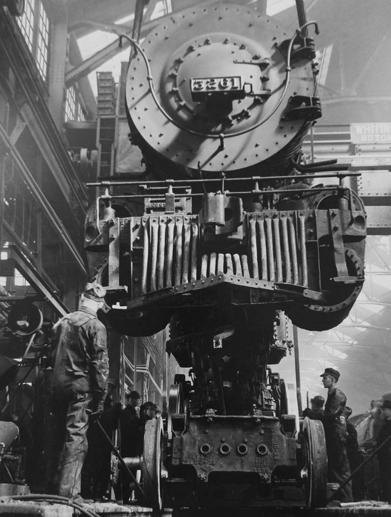 Kansas City, Kansas, Santa Fe Railroad Repair Shop