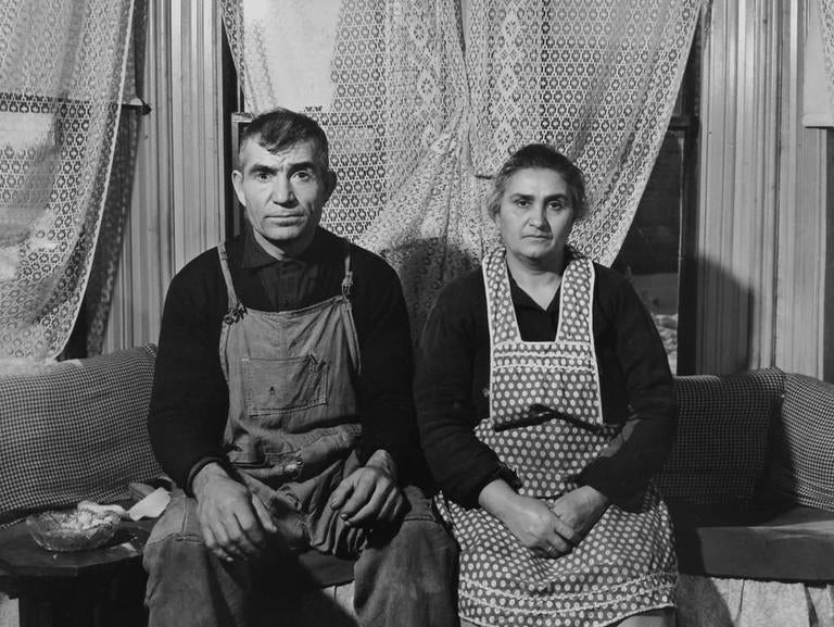 Jack Delano American Farmer And His Wife Connecticut Photograph For Sale At 1stdibs