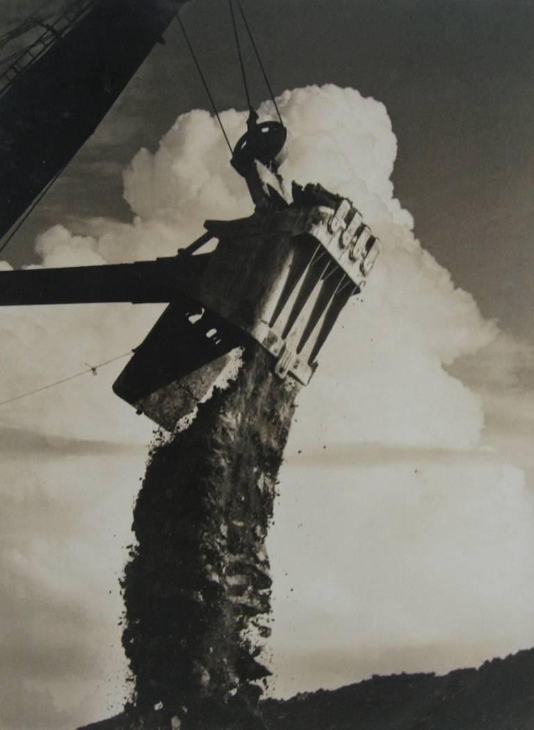 Untitled - Shovel, Scoop clouds