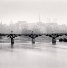 Michael Kenna - Pont des Arts, Study 3, Paris, France