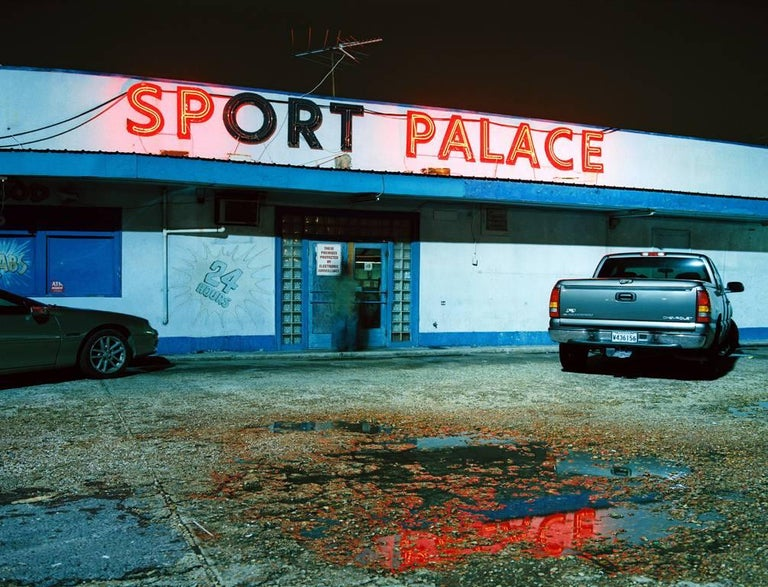 William Greiner Color Photograph - Sports Palace, Metairie, LA
