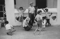 Children Playing Marbles, St. Thomas, U.S. Virgin Islands