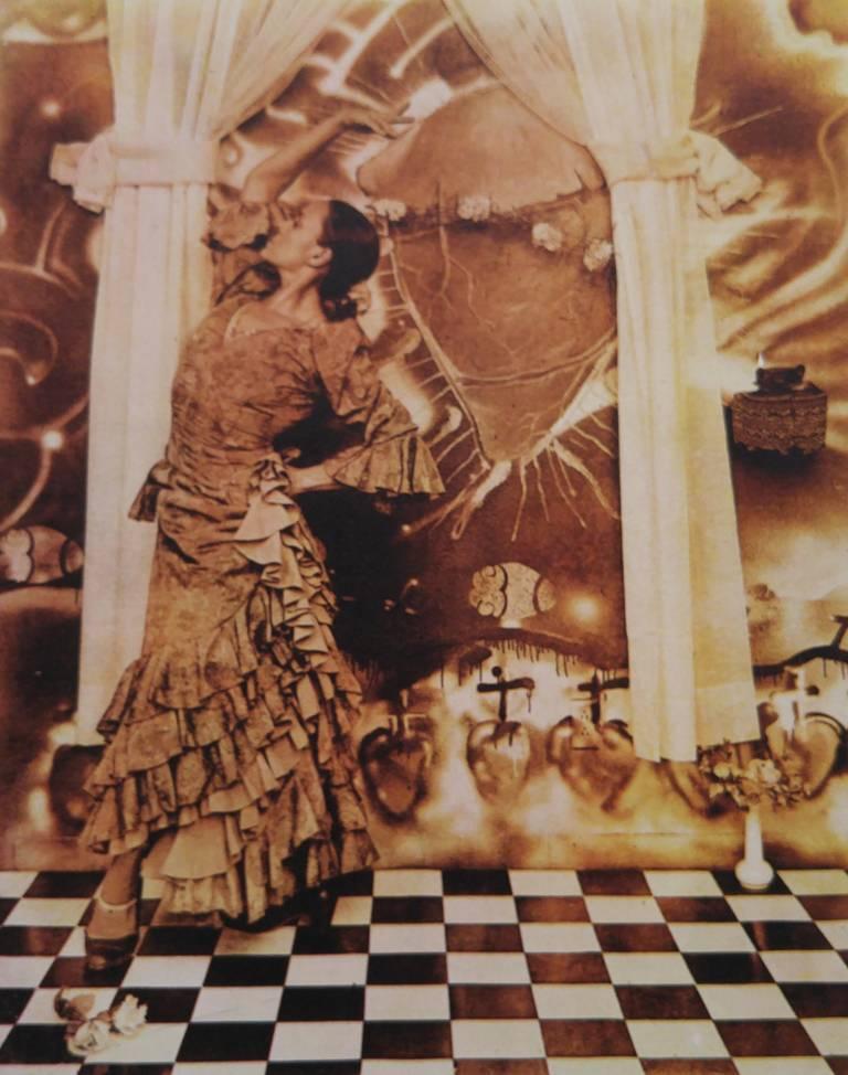 El Grito De La Gitana, from Corazon Sagrado series - Photograph by Delilah Montoya