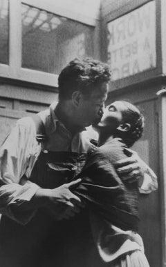 Frida and Diego Caught Kissing, New York City, NY