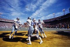 Dallas in End zone, Super Bowl X, Orange Bowl, Miami, FL, January 18, 1976