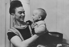 Lucienne Bloch - Frida with her Godson New York City, NY