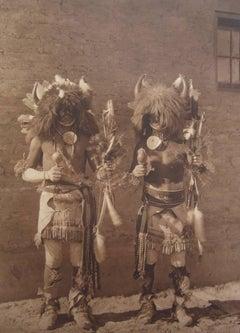 Tesuque Buffalo Dancers, pl. 600