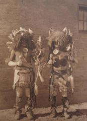 Tesuque Buffalo Dancers, pl. 600