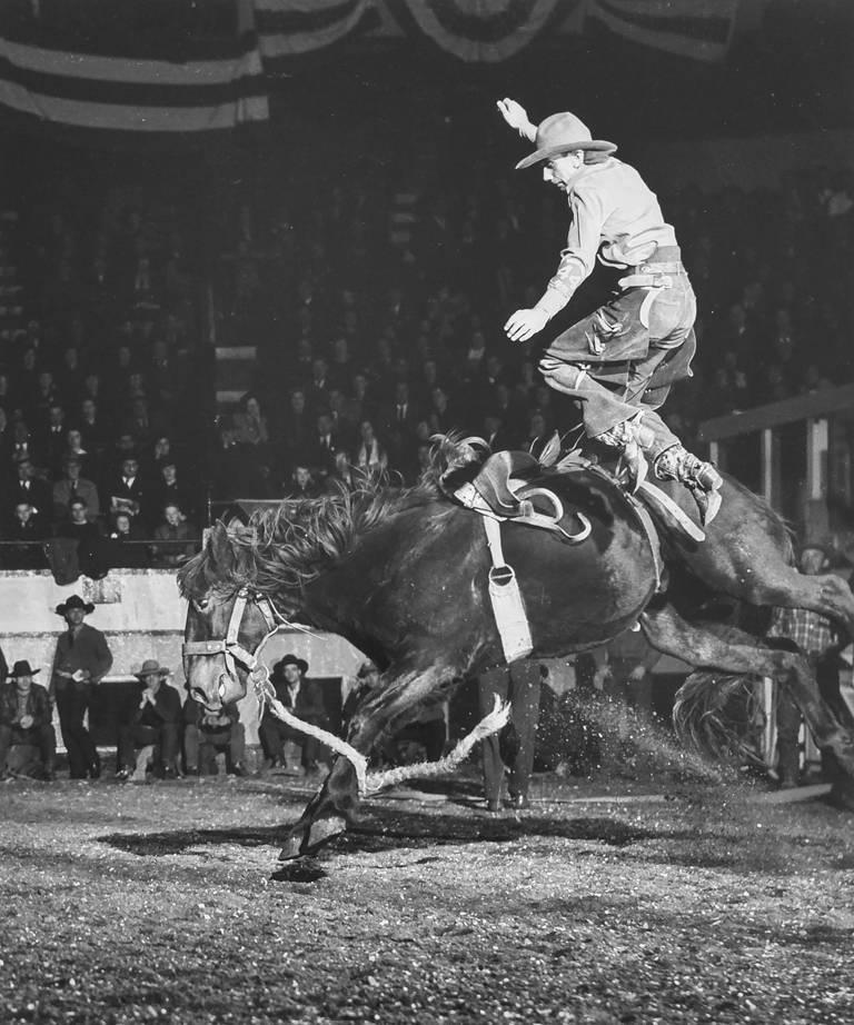 Harold Eugene Edgerton Figurative Photograph - Rodeo